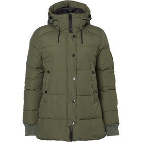 North Bend Puff Jacket Women green utility
